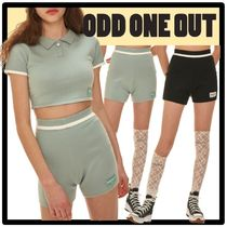 ODD ONE OUT Casual Style Street Style Shorts