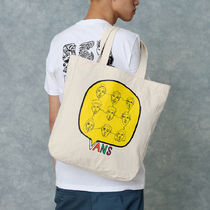 VANS Casual Style Unisex Street Style A4 Plain Logo Totes