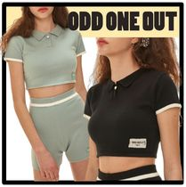 ODD ONE OUT Street Style Short Sleeves T-Shirts