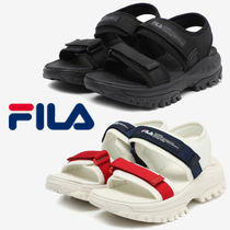 FILA Ray Unisex Street Style Sport Sandals Logo Sports Sandals