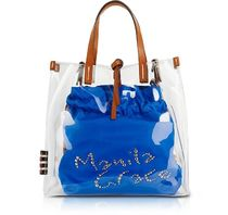 Manila Grace Casual Style Street Style Crystal Clear Bags Office Style
