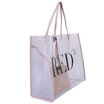 RED VALENTINO Dots Calfskin Bag in Bag A4 Plain PVC Clothing Logo Bags