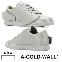 A-COLD-WALL Round Toe Rubber Sole Casual Style Street Style Plain