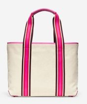 Cole Haan Casual Style Canvas A4 Plain Office Style Totes