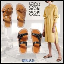 LOEWE GATE Leather Sandals Sandal