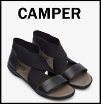 CAMPER Casual Style Street Style Plain Leather Office Style