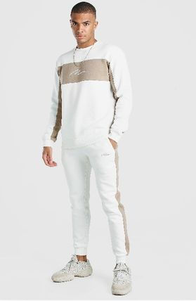 Unisex Co-ord Sweats Icy Color Loungewear Two-Piece Sets