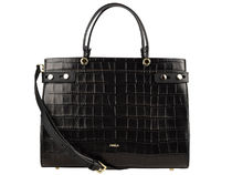 FURLA LADY Casual Style Crocodile 2WAY Other Animal Patterns Leather
