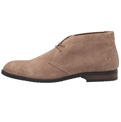 Suede Plain Shoes