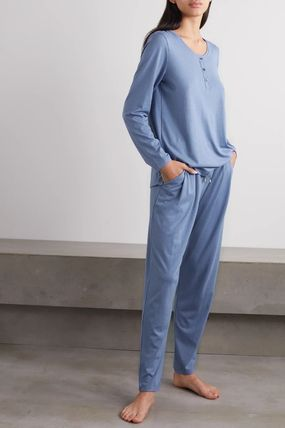 Plain Cotton Lounge & Sleepwear
