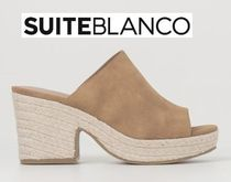 Blanco Open Toe Casual Style Sabo Sandals Sandal