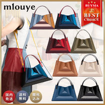 mlouye Casual Style Suede Blended Fabrics Street Style 2WAY