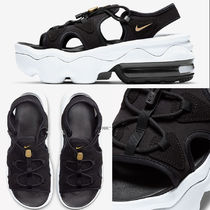 Nike AIR MAX KOKO Open Toe Platform Casual Style Street Style Plain Slippers