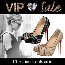 Christian Louboutin Casual Style Pin Heels Handmade Party Style Elegant Style