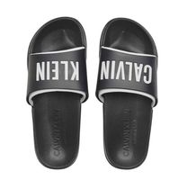 Calvin Klein Plain Shower Shoes PVC Clothing Logo Shower Sandals
