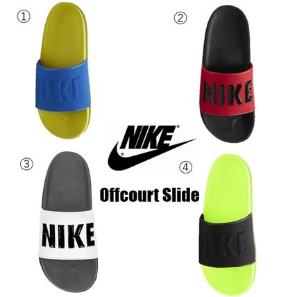 Nike Street Style Plain Shower Shoes Logo Sports Sandals