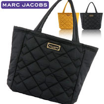 MARC JACOBS Nylon A4 Plain Office Style Totes