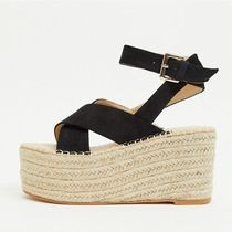 PrettyLittleThing Open Toe Casual Style Platform & Wedge Sandals