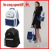 le coq sportif Casual Style Unisex 2WAY Logo Backpacks
