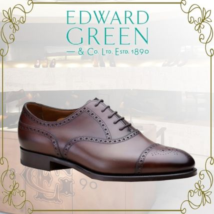 Straight Tip Leather Handmade Bridal Oxfords