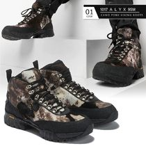 ALYX Camouflage Mountain Boots Round Toe Rubber Sole Casual Style