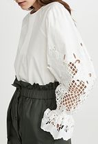 See by Chloe Long Sleeves Lace Shirts & Blouses