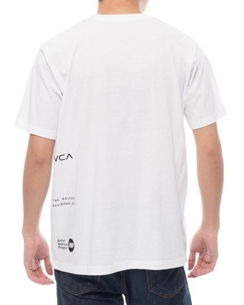 RVCA Crew Neck Crew Neck Unisex Plain Short Sleeves Logo Crew Neck T-Shirts 7
