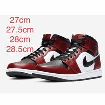 Nike JORDAN 1 Mountain Boots Unisex Street Style Plain Leather