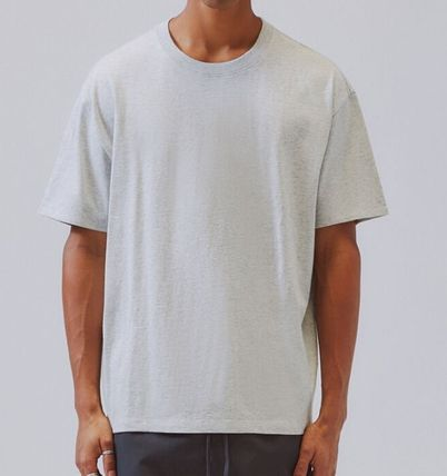 FEAR OF GOD Crew Neck Crew Neck Unisex Street Style Short Sleeves Oversized Logo 3