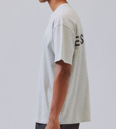 FEAR OF GOD Crew Neck Crew Neck Unisex Street Style Short Sleeves Oversized Logo 5