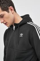 adidas Hoodies Unisex Street Style Long Sleeves Plain Logo Hoodies 11