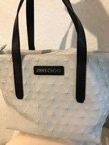 Jimmy Choo Star Casual Style Street Style 2WAY Leather Office Style