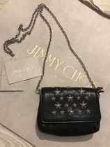 Jimmy Choo Star Casual Style Studded Street Style 2WAY Leather