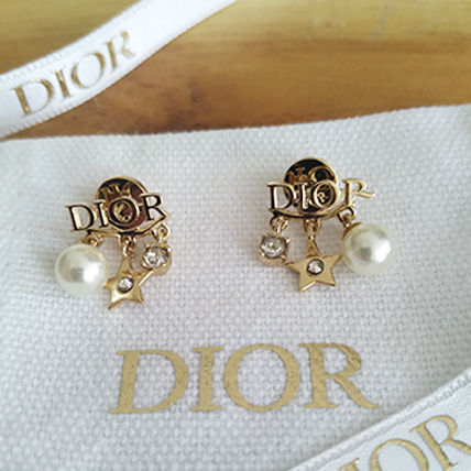 Christian Dior DIOREVOLUTION Star Casual Style Party Style Elegant Style Bridal Earrings