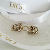 Christian Dior Star Casual Style Party Style Elegant Style Bridal Earrings