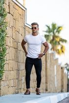 Father & Sons More T-Shirts Street Style Plain Short Sleeves T-Shirts 5