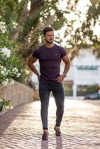 Father & Sons More T-Shirts Street Style Plain Short Sleeves T-Shirts 7