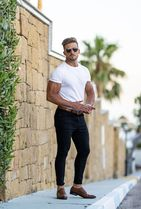 Father & Sons More T-Shirts Street Style Plain Short Sleeves T-Shirts 10