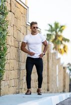 Father & Sons More T-Shirts Street Style Plain Short Sleeves T-Shirts 12