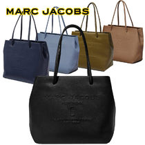 MARC JACOBS Casual Style A4 Leather Party Style Office Style
