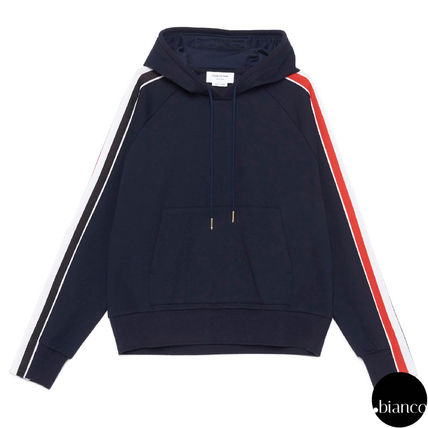 Pullovers Stripes Sweat Long Sleeves Cotton Designers