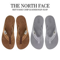 THE NORTH FACE Street Style Plain Flipflop Logo Sports Sandals