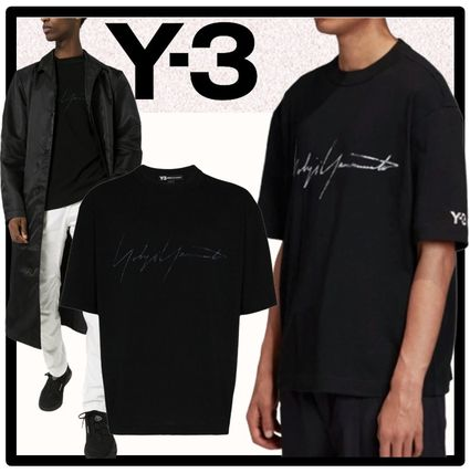 Y-3 More T-Shirts Unisex Street Style Short Sleeves Designers T-Shirts