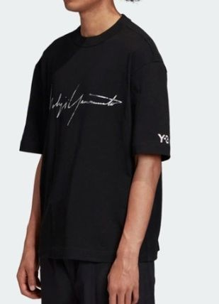 Y-3 More T-Shirts Unisex Street Style Short Sleeves Designers T-Shirts 9