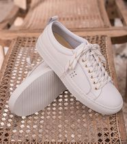 M. MOUSTACHE Rubber Sole Casual Style Unisex Street Style Leather