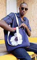 AFENDS Casual Style Unisex Canvas Street Style A4 Plain Totes