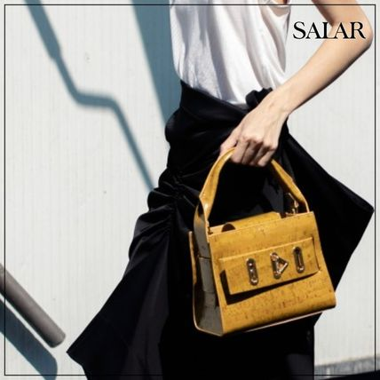 Casual Style Plain Elegant Style Formal Style  Shoulder Bags