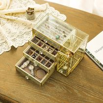 Make-up Organizer Jewelry Organizer Gold Furniture