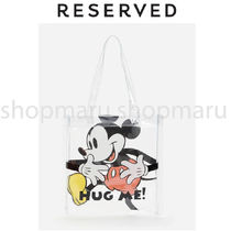 RESERVED Casual Style Unisex Street Style Collaboration A4