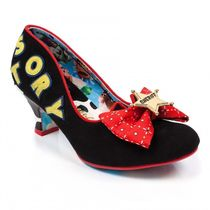 Irregular Choice Round Toe Casual Style Collaboration Logo Pumps & Mules